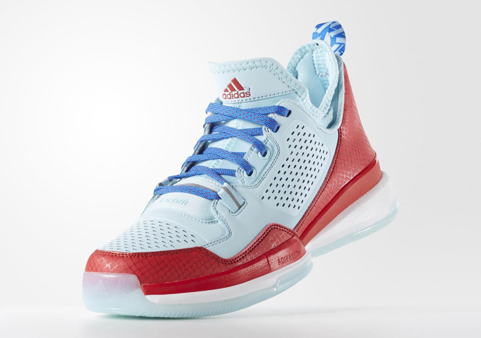 """finest selection 57148 9d89f A First Look at the adidas D Lillard 1 """"Independence Day"""""""