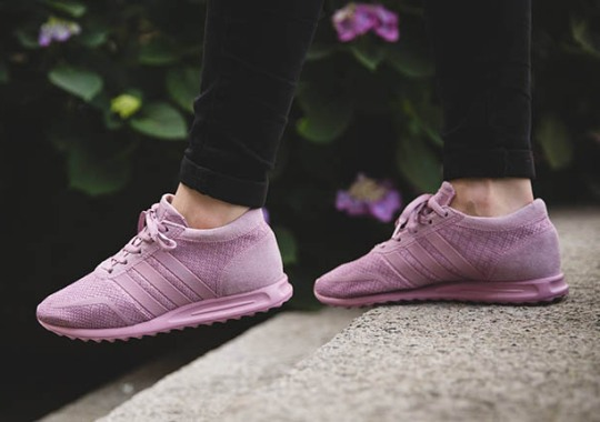 The adidas Los Angeles Goes All Pink