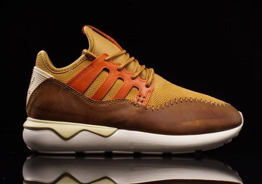 The adidas Tubular Moc Runner in a Desert Color Palette