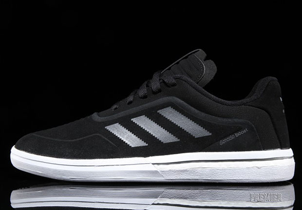 new product 7c8da 3aadd The Dorado ADV Boost debuts in this clean and simple black and white  colorway, and can be found arriving now at select adidas Skateboarding  stockists like ...
