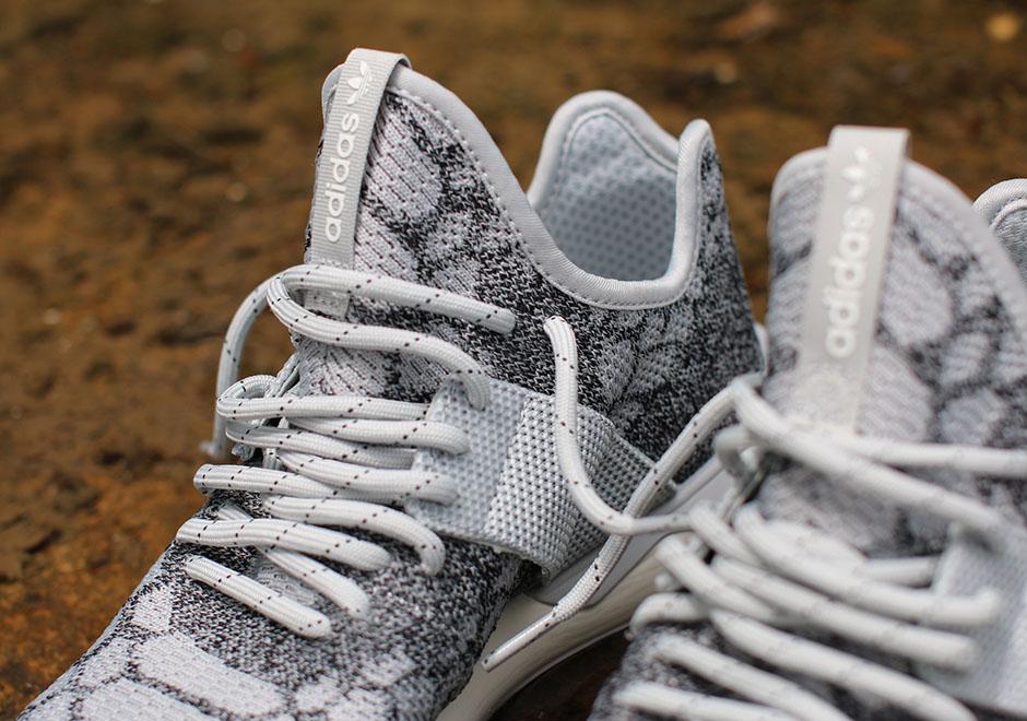 Originales Adidas Hombre Cursor Tubular Entrenadores Primeknit Piedra Blanca / Vendimia uiuJAA