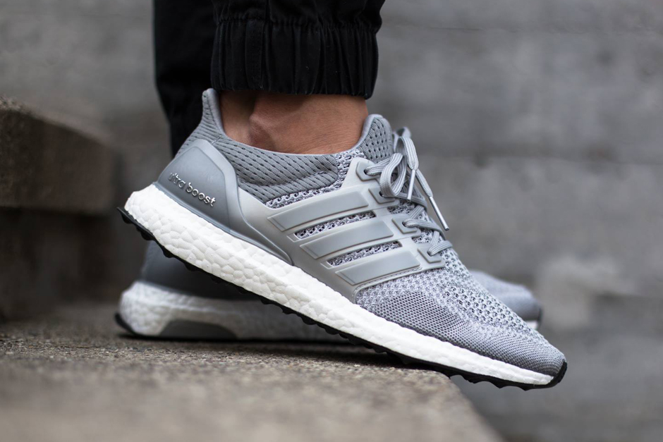 An On Foot Look At The Adidas Ultra Boost In Silver