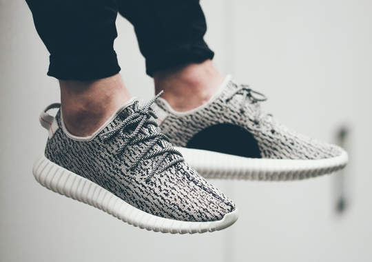 An On-Feet Look At The adidas Yeezy 350 Boost