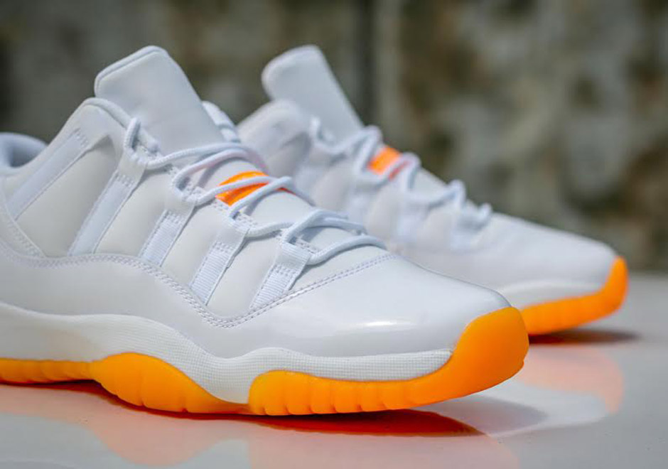 "Air Jordan 11 Low GS ""Citrus"" Releases This Weekend"