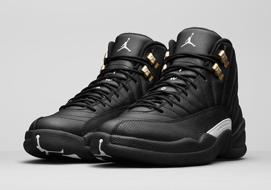 jordan 12 black leather off 60% - www