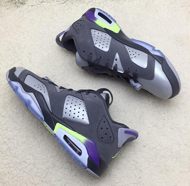 Air Jordan 6 Low - Grey - Purple - Neon - SneakerNews.com a15cfcaf0
