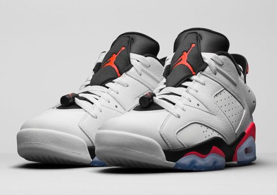 "A New Take On The Air Jordan 6 ""Infrared"" Releases Next Weekend"