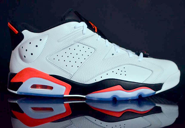 purchase cheap d1c89 df4e2 Source  Kix Square Air Jordan 6 Retro Low Color  White Infrared 23-Black  Style Code  304401-123. Release Date  7 4 15. Price   175