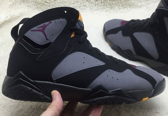 "A First Look At The Air Jordan 7 ""Bordeaux"" Retro"
