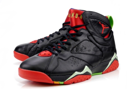 "Another Look at the Air Jordan 7 ""Marvin The Martian"""