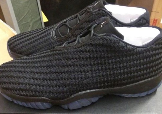 The Jordan Future Low Completely Murdered Out