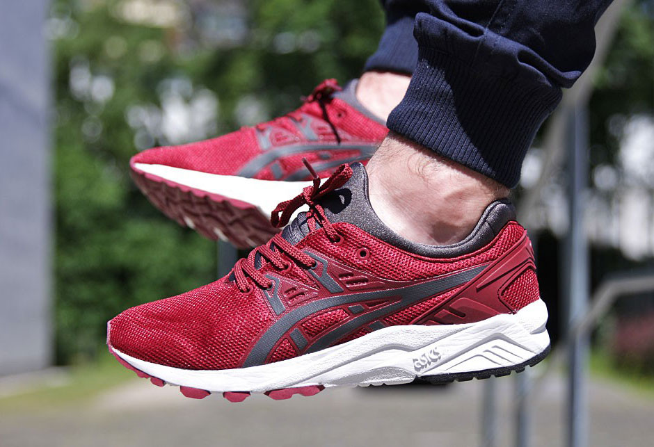 asics gel kayano evo rose