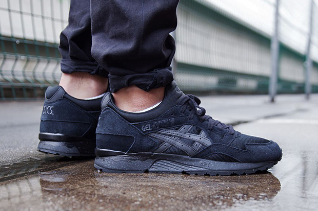 asics gel lyte v 5 speckled triple black