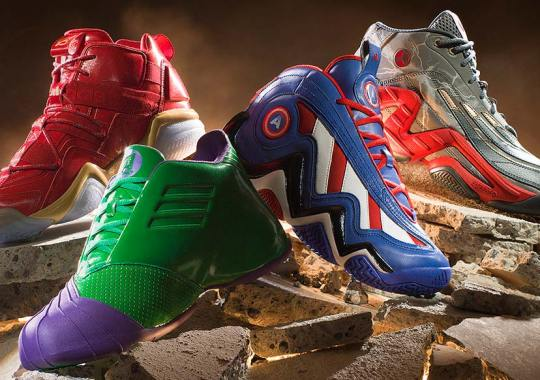 Marvel Avengers x adidas Basketball Collection Officially Unveiled