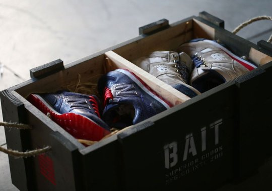 BAIT x G.I. Joe To Release Their New Balance Collab with Military Crates in Crazy In-Store Giveaway