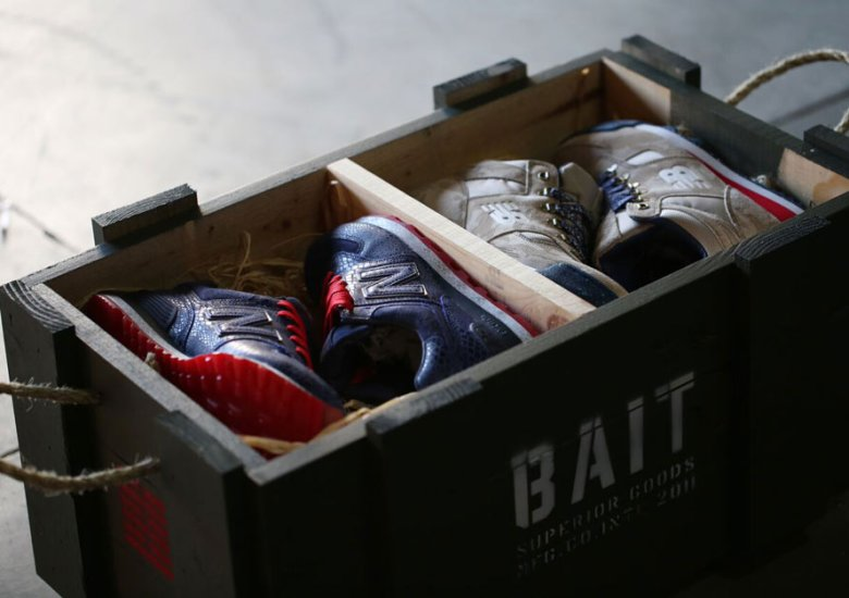 dc95dc8e7f63e BAIT x G.I. Joe To Release Their New Balance Collab with Military Crates in  Crazy In-Store Giveaway