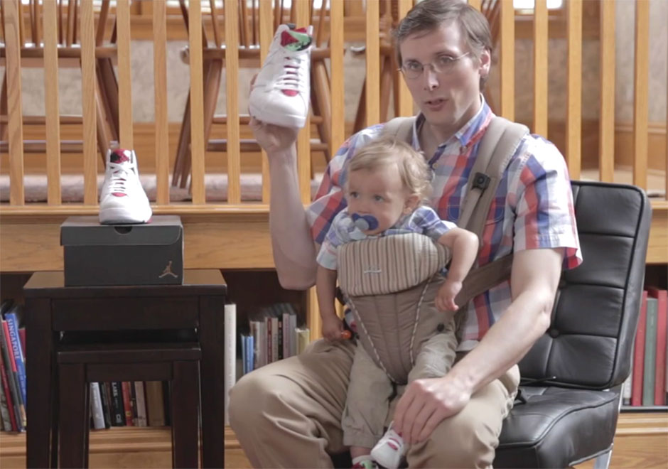 Air Jordans Are Indeed For The Whole Family, Because Brad Hall Says So