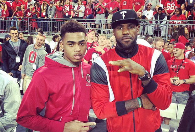dangelo russell could be the next great signature