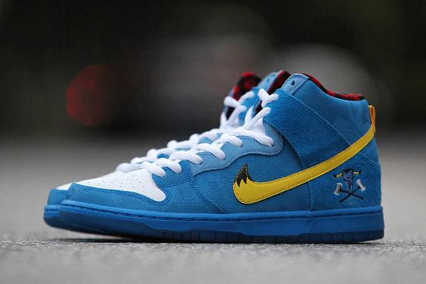 Familia Skates x Nike SB Dunk High