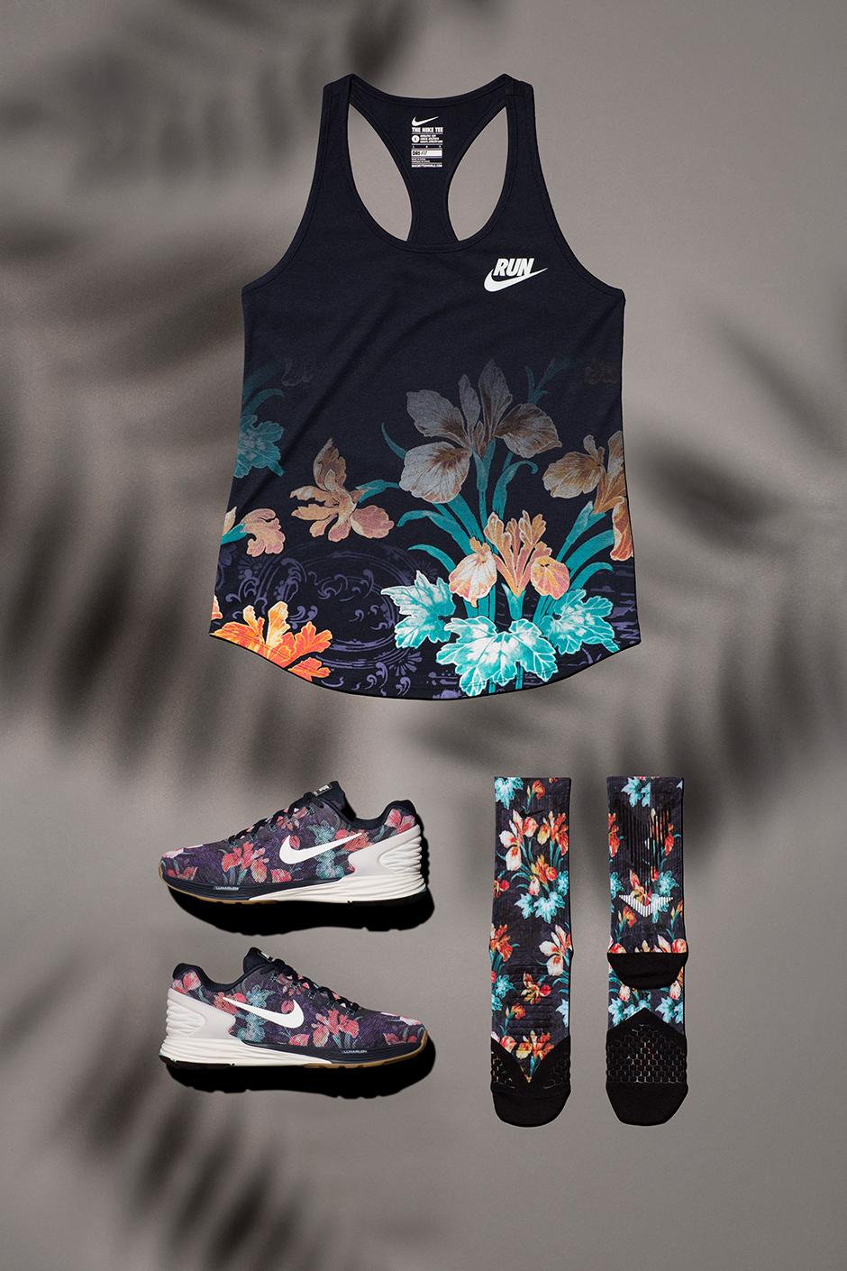 Nike Lunarglide 6 Floral Kvinners Sko dqfLcrEE