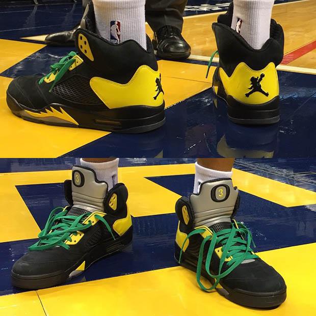 Oregon Ducks Basketball Shoes