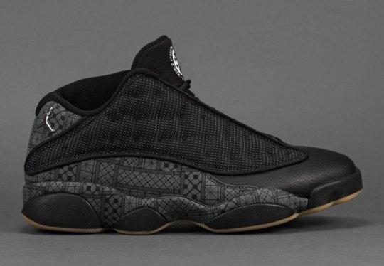 """Will The Air Jordan 13 Low """"Quai 54"""" Release In The U.S.?"""