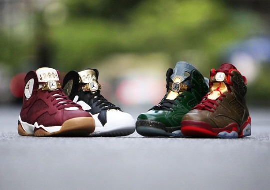 "reputable site 061d2 ef364 Will Jordan Brand Release A ""Cigar   Champagne"" Pack For Every Championship  Michael Jordan"