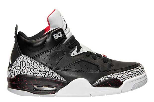"""new style fae1d 97f3a Jordan Son of Mars Low """"Black Cement"""" Color  Black Black-University Red-Grey  Mist Style Code  580603-002. Release Date  06 10 15. Price   140. Nike ..."""