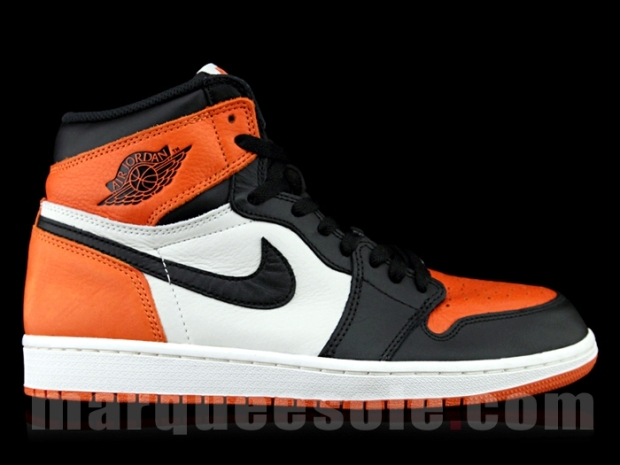 """best authentic 02d53 bc69f Air Jordan 1 Retro High OG """"Shattered Backboard"""" Color  Black Starfish-Sail  Style Code  555088-005. Release Date  06 27 15. Price   160"""