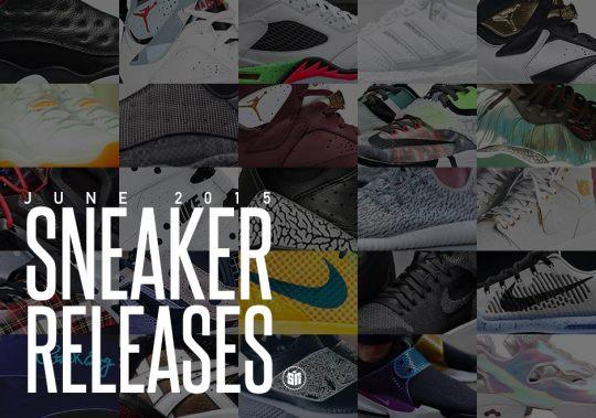 June 2015 Sneaker Releases