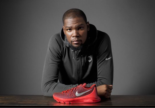The Nike KD 8 Boasts The Brand's Newest Innovations In Flyweave And Articulated Zoom Air
