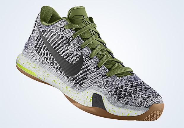ce5072bced29 Nike Kobe 10 Elite iD - Available - SneakerNews.com