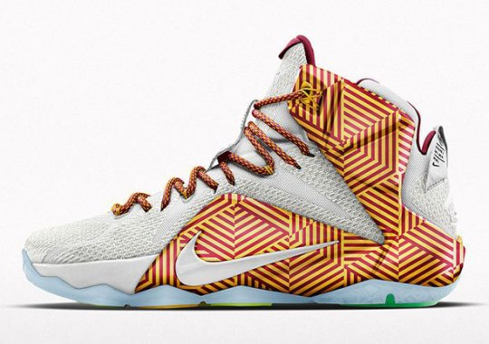 A New NIKEiD Graphic For The LeBron 12 Just Released