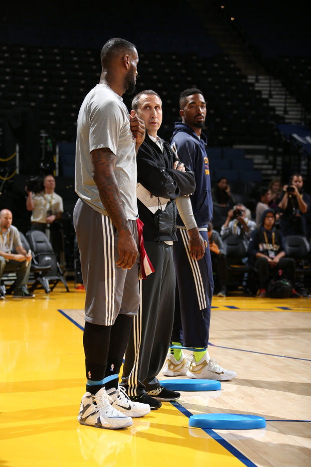0161d5d3d2ac0 LeBron James NBA Finals Shoes Game 2