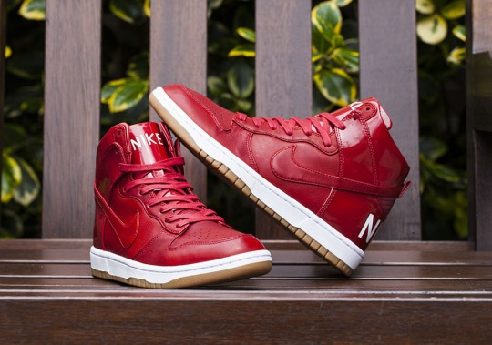 Luxurious Patent Leather Nike Dunks Are Releasing Soon
