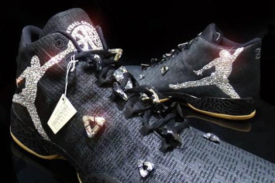 Michael Jordan Received Custom Air Jordans Designed With Swarovski Crystals