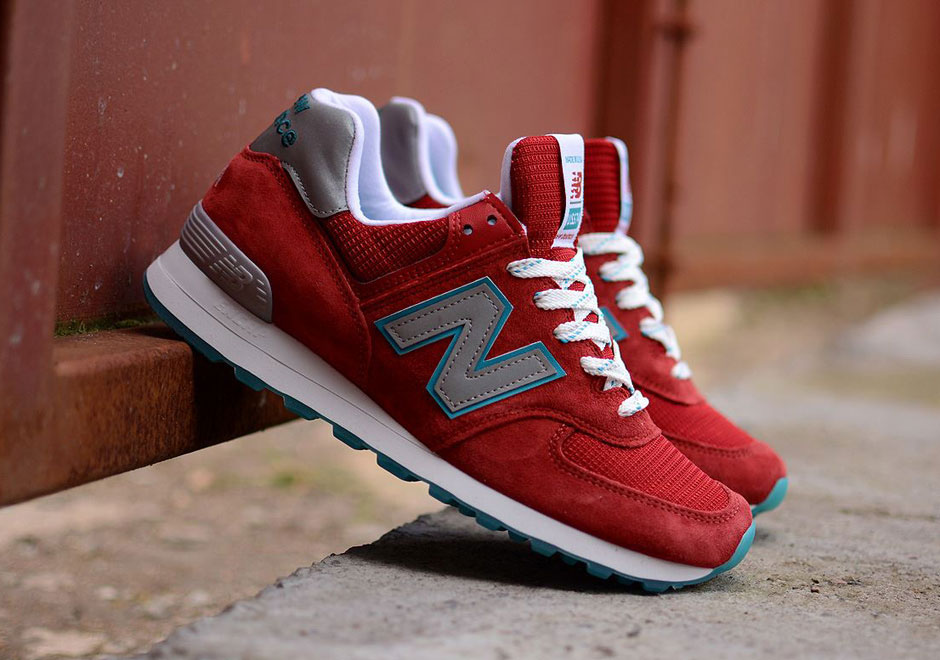 """New Balance 574 """"Made In USA"""" in Liverpool Colors ..."""