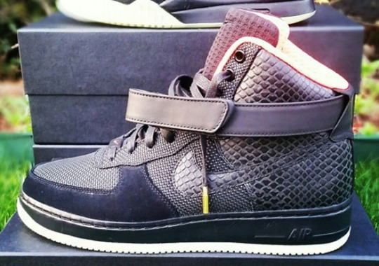 This Nike Air Force 1 High Bespoke is Inspired By The Air Yeezy 2
