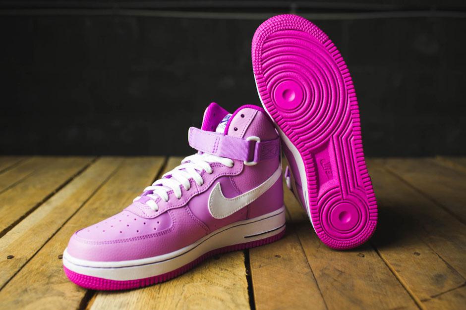 bubblegum pink nike air force 1s
