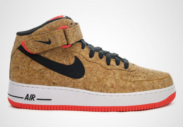 """competitive price 93bbf 83d67 Nike Air Force 1 Mid """"Cork"""""""