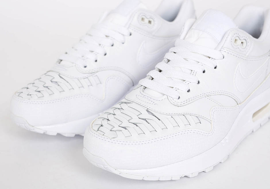 wholesale dealer b0640 b9ca9 Nike Air Max 1 Woven - White - SneakerNews.com