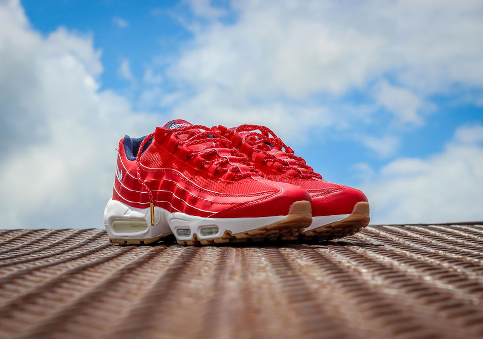Nike Air Max 95 All Red
