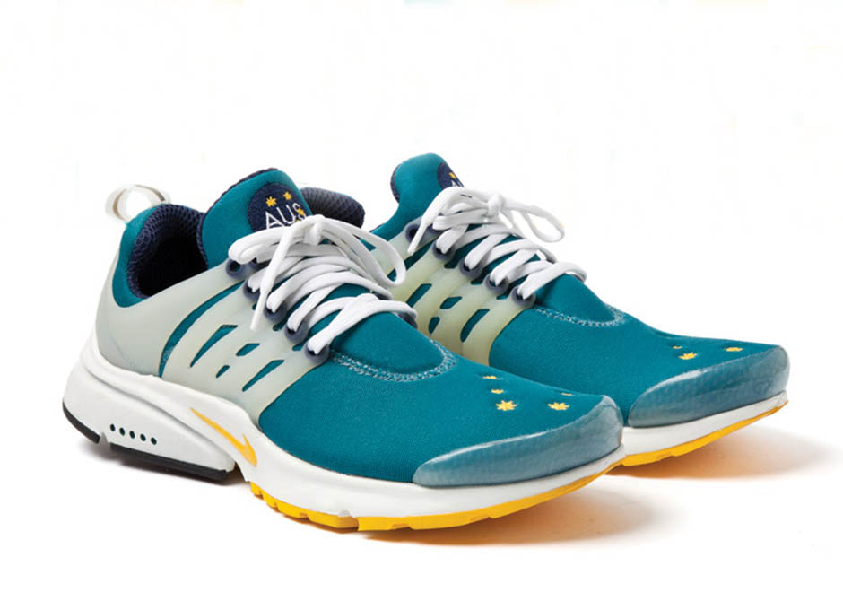 size 40 e368d b4e6f The host country of the 2000 Summer Olympics got a special treat from Nike,  with these friends-and-family-only Prestos given to the country s athletes.