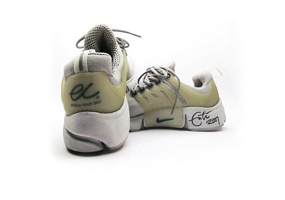 sports shoes 7ad72 91b03 Rock star Eric Clapton was apparently a big fan of the Air Presto, because  he had some specially made for his 2001 World Tour.