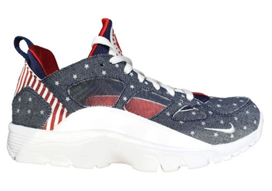 The Nike Air Trainer Huarache Low Goes Patriotic