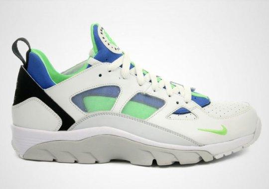 """Scream Green"" Appears On An Updated Nike Huarache Silhouette"