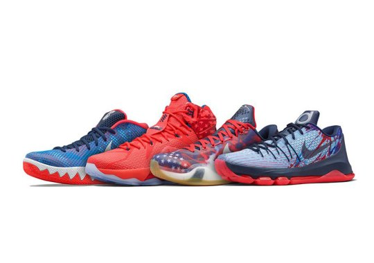 Celebrate Fourth Of July A Bit Early With Nike Basketball