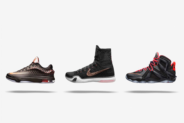 "5aa2e6e37fb2 Nike Basketball Elite ""Rose Gold"" Collection – Available"
