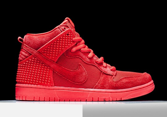 """Nike Dunk High """"Red October"""" – Available"""