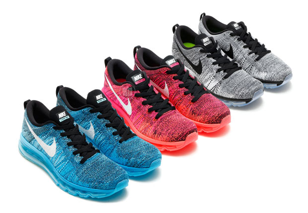 Nike's running department outfits you for summer in the dynamic duo of Max  Air and Flyknit this summer with brand-new looks for the Flyknit Air Max.